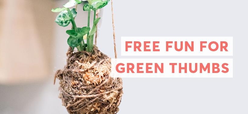 Free Fun For Green Thumbs